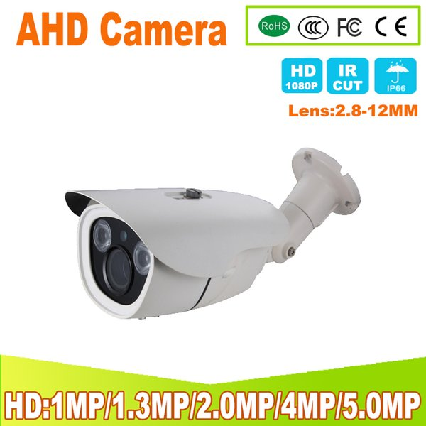 20P/1080P 4MP 5MP AHD Camera Full HD 2 PCS Array IR LED 30 Meter IR Distance CCTV Outdoor Video Street Security AHD Camera