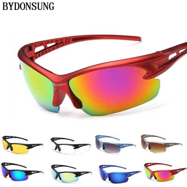 2018 Men Women Cycling Glasses Eyewear MTB Goggles Bike Eyewear Bicycle Driving Sport Sunglasses Glasses Oculos Gafas Ciclismo