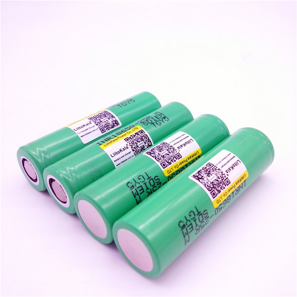 Liitokala for samsung 18650 lithium battery of 2500 mah 25R INR18650 25r 20A battery eletronic cigarette