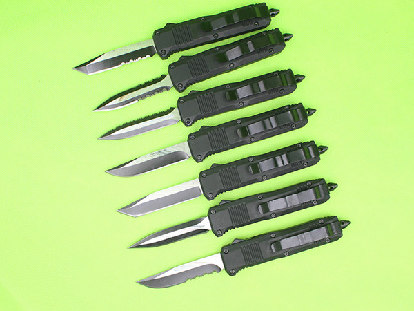 best selling Butterfly C07 Auto Tactical Knife 7 Model Optional Blades EDC Pocket Knife Outdoor Camping Hiking Survival Knife Special Link For Chris
