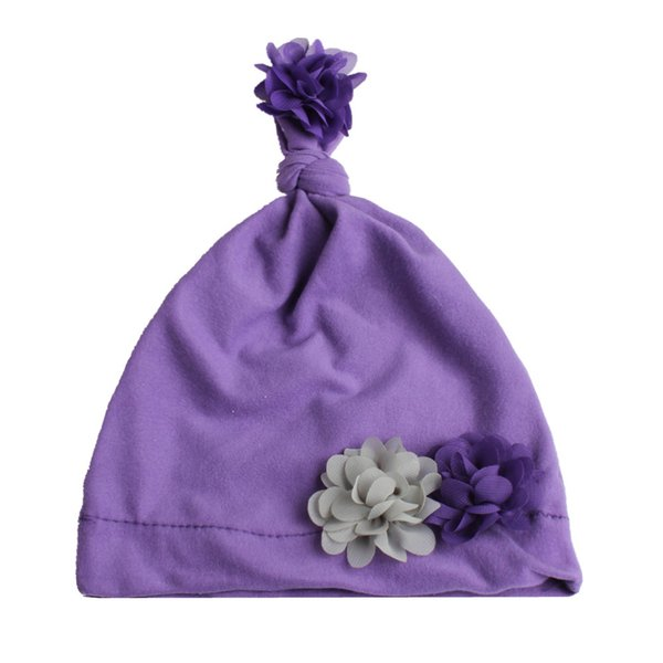 Lavender flower hat