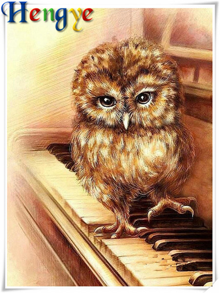 5D Diamond embroidery animal cute owl diy diamond painting cross stitch kit resin full round&square diamond mosaic home decor y2768