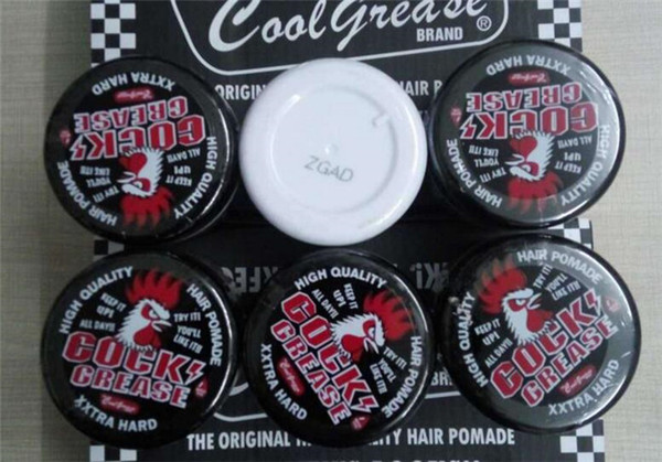 96pcs 87g COCK GREASE XXTRA HARD coolgrease suavecito Hair Pomade Strong Hold Hair Firme Hold Easy Washing Hair Oil wax X105