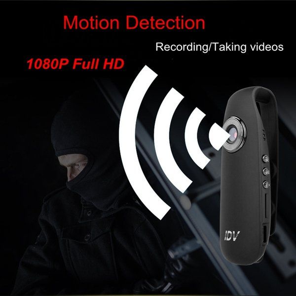 2018 Mini macchina fotografica Full HD 1080P Full HD Body Worn Pen Micro Camcorder Audio Video Registratore auto Rilevazione movimento Secret Small Cam