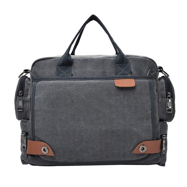 Canvas Men Bag Briefcase Fashion Man Business Handbag Men's Messenger Bags Male Shoulder bag Sling briefcase Bags Satchel