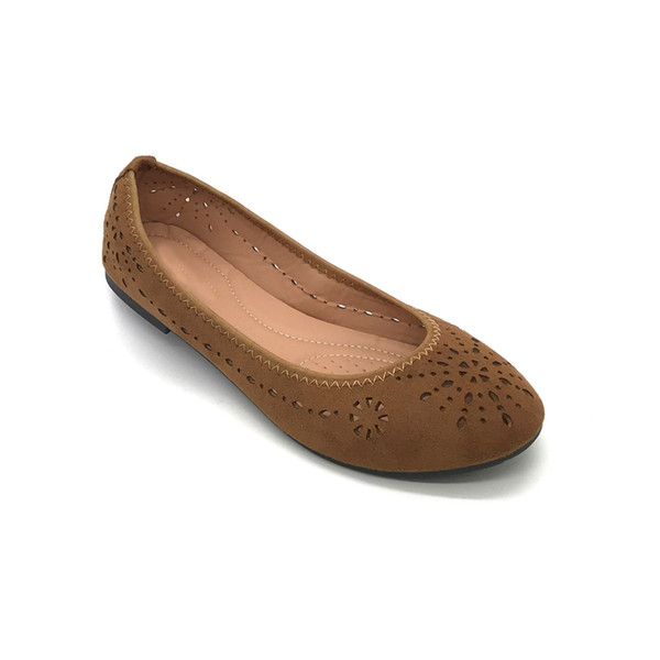 high quality offer discounts promo codes Cut Outs Design Loafers Shoes Best Flats For Walking Fashionable Casual  Style Ladies Formal Shoes Made In China Loafers For Women Deck Shoes From  ...