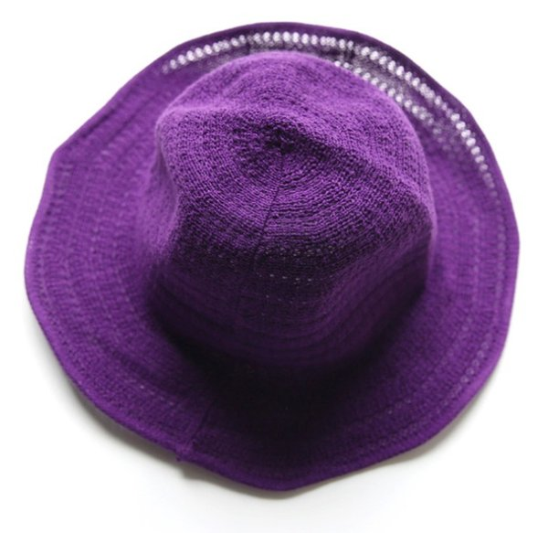 5 colors 2018 Wholesale Summer & Fall Bucket Hat Fashion Women Wide Brim for Summer Caps Knitted Hat