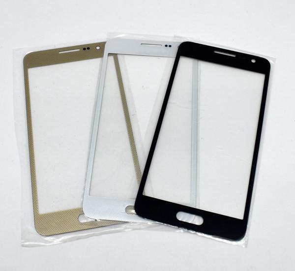 Samsung A5 A5000 A500F A500H 2015 İçin Yeni Yüksek Kaliteli Değiştirme LCD Ön Dokunmatik Ekran Cam Dış Mercek