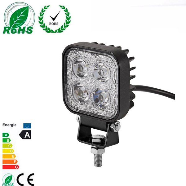 1 Pc 900LM Mini 6 Inch 12W 4 X 3W Car LED WORK Light Bar as Worklight/ Flood Light / Spot off road for Vehicle SUV ATV