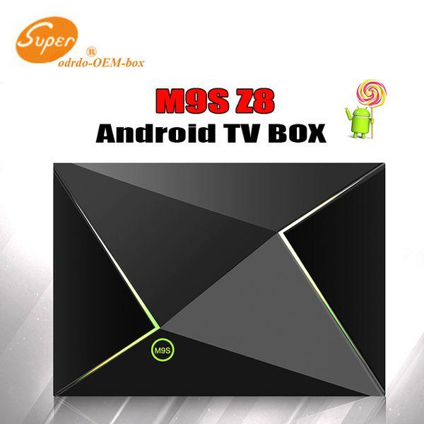 M9S Z8 2GB 8GB Amlogic S905x Quad Core Android 6.0 Smart TV Box 4K Mini PC 2.4GHZ+5.8GHZ Wifi set top box Bluetooth HDMI