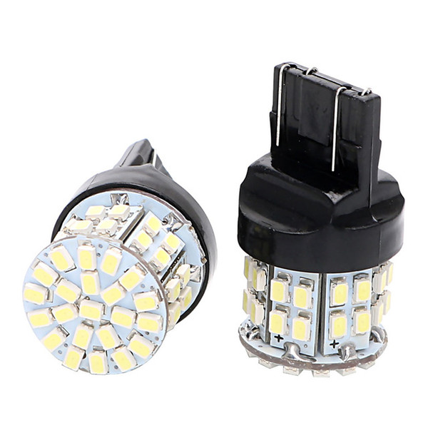 2X T20 7443 Car LED Brake Light Stop Rear Bulb 50SMD Auto Turn Signal Lamp W21/5W Backup Reserve Lights Universal