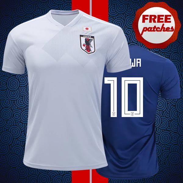 Top Thai Quality Japan 2018 2019 Maglia domestica da calcio KAGAWA HONDA NAGATOMO OKAZAKI Worl Coppa del mondo Camisa de Football Camicie XXL 3XL 4XL