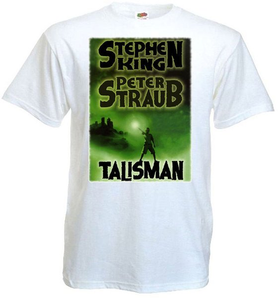 The Talisman v.2 T-shirt white Poster all sizes S...5XL High Quality Custom Printed Tops Hipster Tees T-Shirt Pop Cotton Man Tee