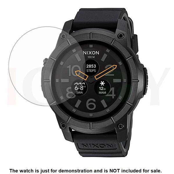 3x Clear Pellicola salvaschermo per display LCD Pellicola salvaschermo per Nixon Mission Sport Orologio GPS Accessori