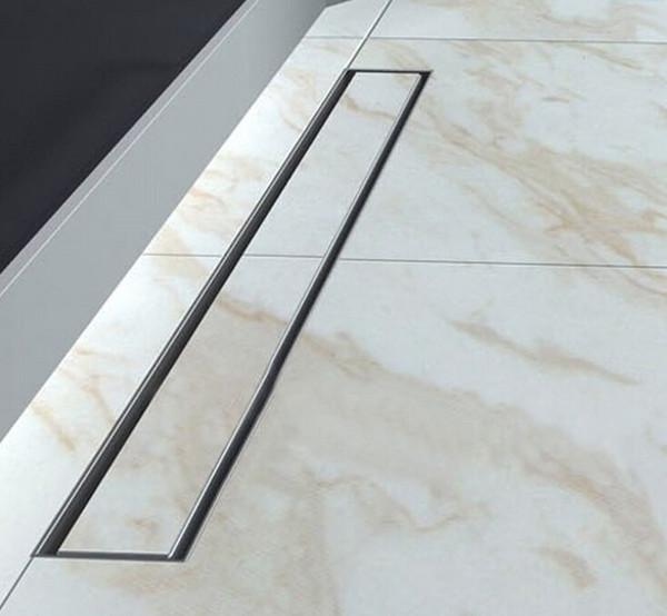 Stainless Steel Floor Drain Linear Bathroom Kitchen Shower Drain,40cm