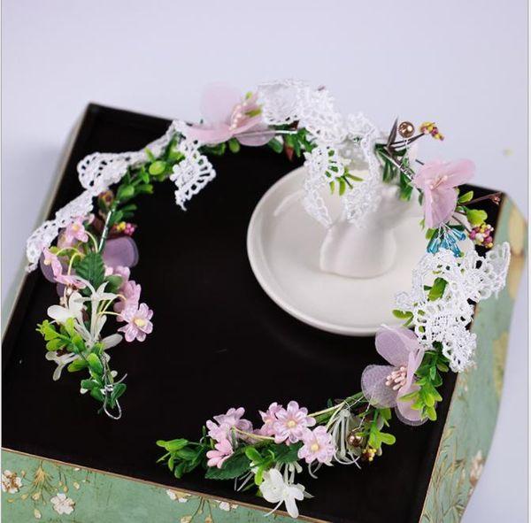 Flowers, flowers, garlands, bridesmaids, flower heads, 2018 new models, Photo Props and garlands