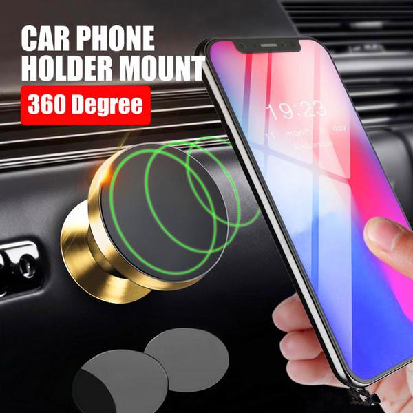 Universal Metall Handyhalter Magnethalterung 360 Rotation Schwenkkopf Für Handyhalter Autozubehör