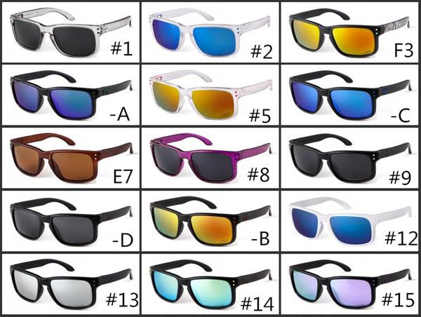 2018 NOUVELLE MARQUE Original LUNETTES DE SOLEIL lunettes de protection lunettes de protection MAT BLACK W / POLARIZED LENS POUR HOMME 12 options de couleur