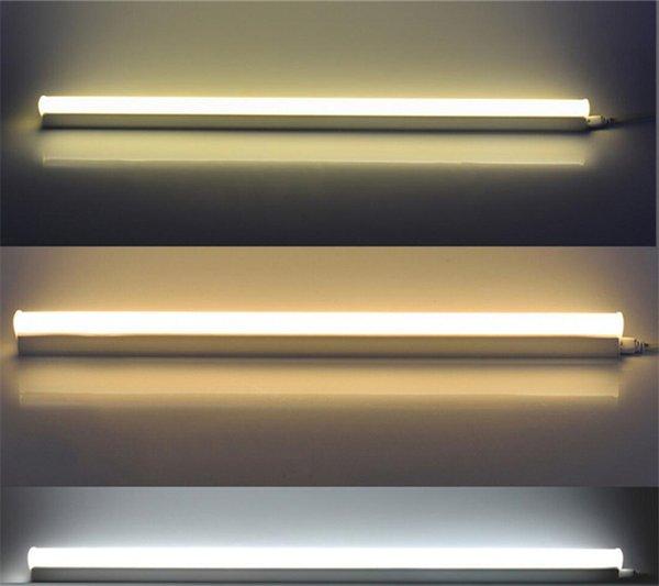 Led Tube T5 integrierte 1ft 2ft 3ft 4ft 10W 16W 24W 36W Led Leuchte AC175-265V SMD2835 Trichromatische Lichtänderung fluoreszente Lampen