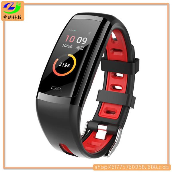 Fashion multifuctional smart waterproof wristband/heart rate&blood presure monitor/sleep monitor/pedometer/(SZZY-CD09)