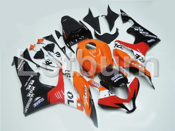 Motorcycle Fairing Kit Fit For Honda CBR600RR CBR600 CBR 600 RR 2007 2008 07 08 F5 Fairings kit High Quality ABS Plastic Injection A235