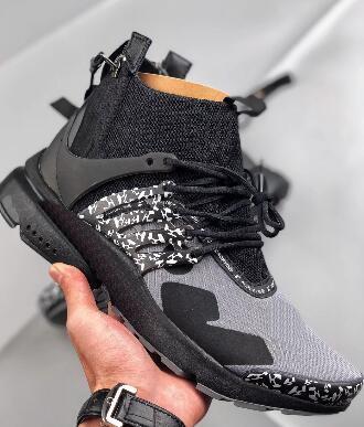 İndirim Presto Mid x ACRONYM Koşu Ayakkabıları, hafif Eğitim Sneakers, bayanlar eğitmenler erkekler kadınlar için atletik en iyi spor koşu ayakkabıları