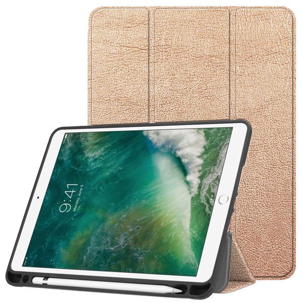 iPad 9.7 Inch 2018 Case, Soft TPU Cover with Auto Wake/Sleep For Apple iPad 208/2017,Air 2,Air