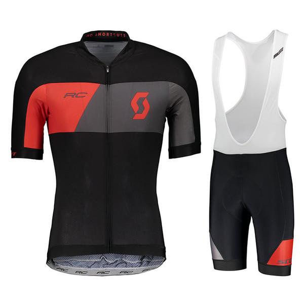 Crossrider summer 2018 SCOTT cycling jersey team bike wear clothes MTB Ropa Ciclismo pro cycling clothing mens short bib sets