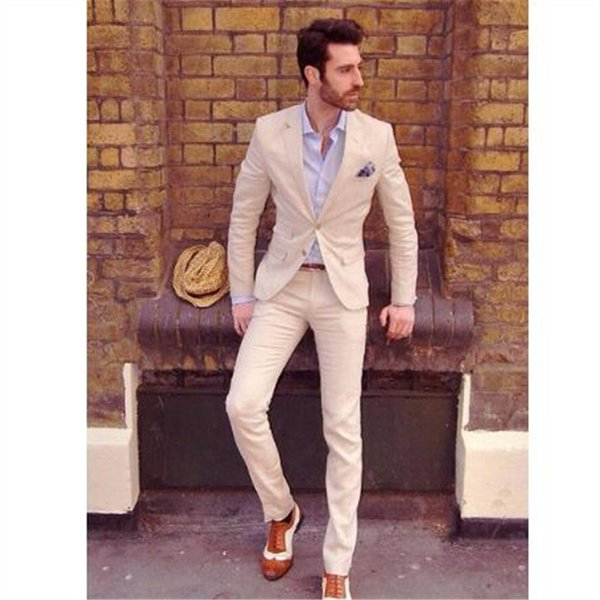 New Casual Men Suits 2Pieces(Jacket Pant Tie) High Quality Slim Fit Blazer Formal Prom Terno Clothes Fashion Blazer For Man