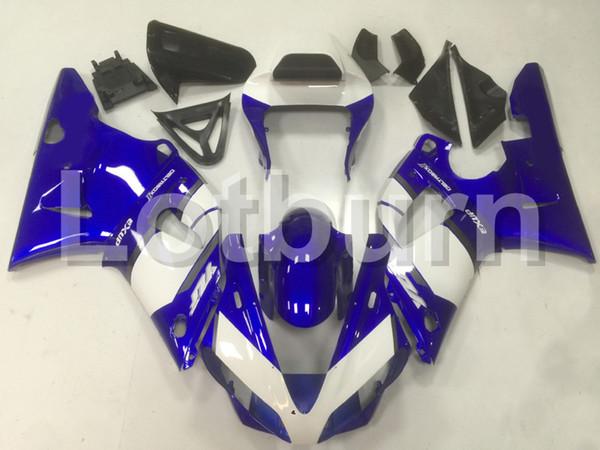 Moto Injection Molding Motorcycle Fairing Kit Fit For Yamaha YZF1000 YZF 1000 R1 YZF-R1 2000 2001 00 01 Bodywork Fairings Custom Made
