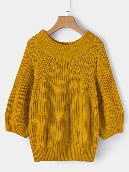 Winter Warm New Fashion Womens Oversized Sweaters Jumper Ladies Long Sleeve Chunky Knitted Ladies Long Loose Knit Sweater Tops