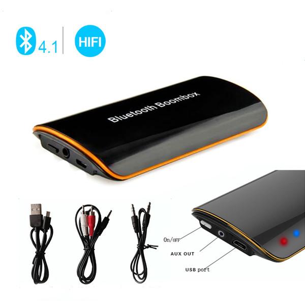 Kebidu Bluetooth Audio Music Receiver B2 Universal Wireless Car Bluetooth Receiver 3.5MM AUX Audio Stereo BT 4.1 High Quality
