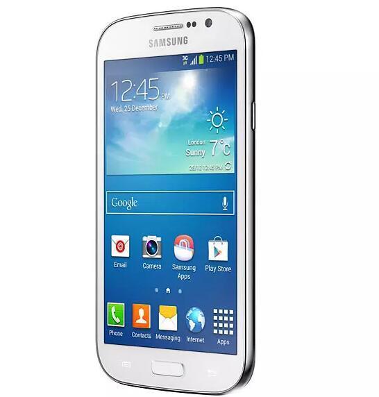 Refurbished DUOS I9082 Ursprüngliche Samsung GALAXY Grand WCDMA 3G Entsperren Dual Micro Sim Karte 5 Zoll 1 GB 8 GB 8MP 2MP Kamera-Smartphones