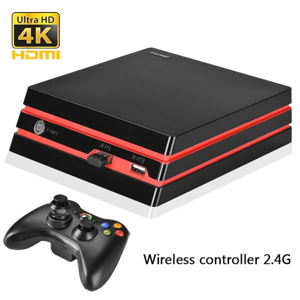Coolbaby 2018 newest HDMI/AV Game Console 64 Bit Support 4K Output Retro 600 Classic Family Games Retro Game Console
