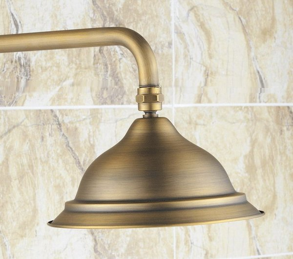 antique brass 8.2 inch rose bathroom rainfall shower heads csh047