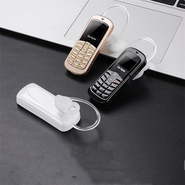 100% ursprünglicher Ohrreim M9 Mini Telefon Bluetooth Kopfhörer 14 Arten Sprache, die Mobile und Unicom 2G 3G 4G Mikro-SIM Karte stützt