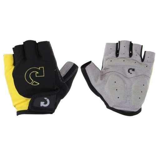 Super Unisex Cycling Gloves Men Sports Half Finger Anti Slip Gel Pad Motorcycle MTB Road Bike Gloves S-XL Bicycle Gloves Yellow