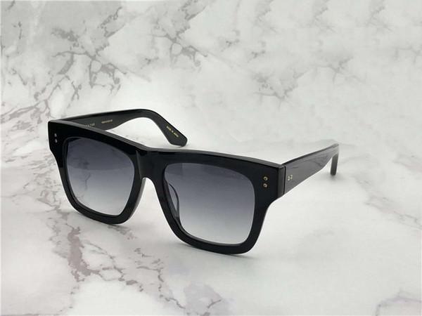Mens Square Creator Pilot Sunglasses Black/Grey Classic Sonnenbrille occhiali da sole Luxury Designer Sunglasses Sun glasses New wib box