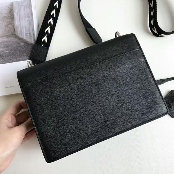 high quality 2018 handbag really leather handbags women bags o bag designer women messenger bags with chains bolsas femininas free shipping
