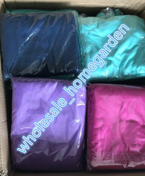 2018! Cheapest Lounge Chair Cover 215*75cm Beach Chair cover summer party accessory 9 colors opp bag