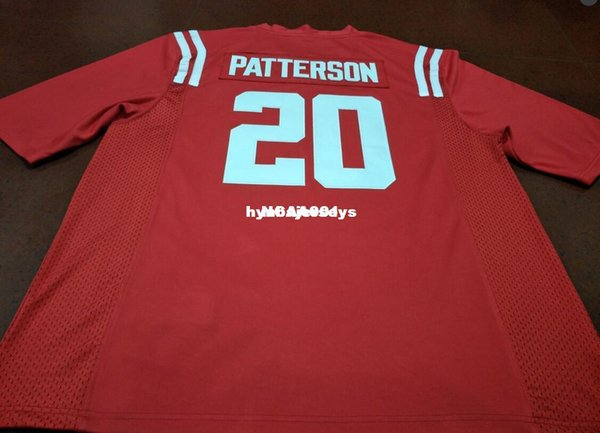 Cheap Men #20 Top high quality Red Shea Patterson Ole Miss Rebels Alumni College Jersey XS-6XL or custom any name or number jersey