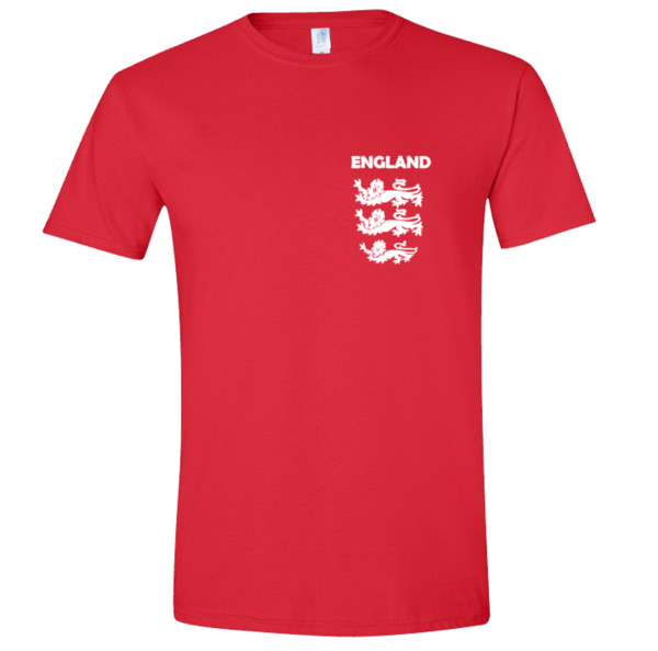 ENGLAND World CUP Football Team Soccer T Shirt Fan Supporter Player Russia 2018 top free shipping t-shirt