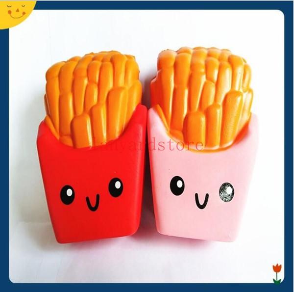 Compre Batata Quente Squishy Batatas Fritas Desenhos Animados