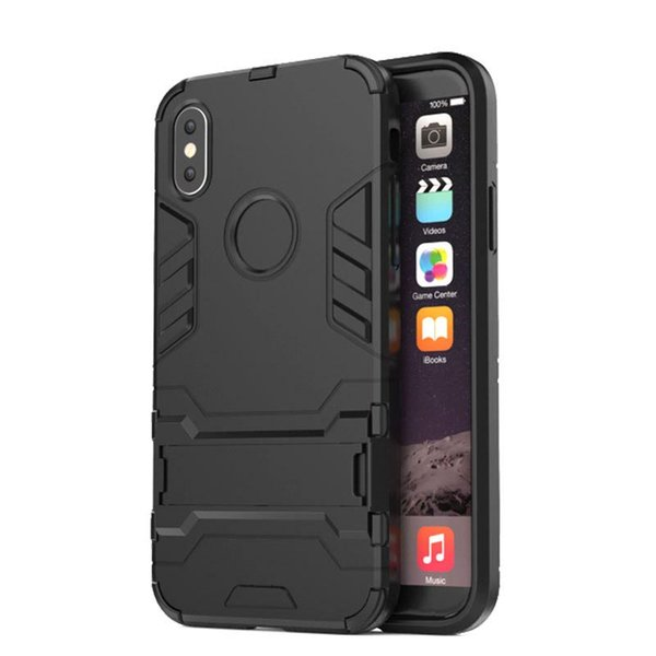 2018 New Fashion Iron Man Phone Case for IPhone X 7/8 7/8p 6/6s 6/6sp 5/5s/se Armour Support Slim Protection Durable Phone Case TPU PC