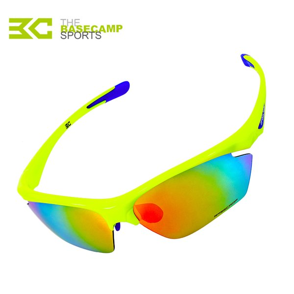 Basecamp Brand 5 Lenses Multicolor Cycling Eyewear Anti-Uv Outdoor Sport Mountain Cycling Goggles Ultralight Bicycle Sunglasses