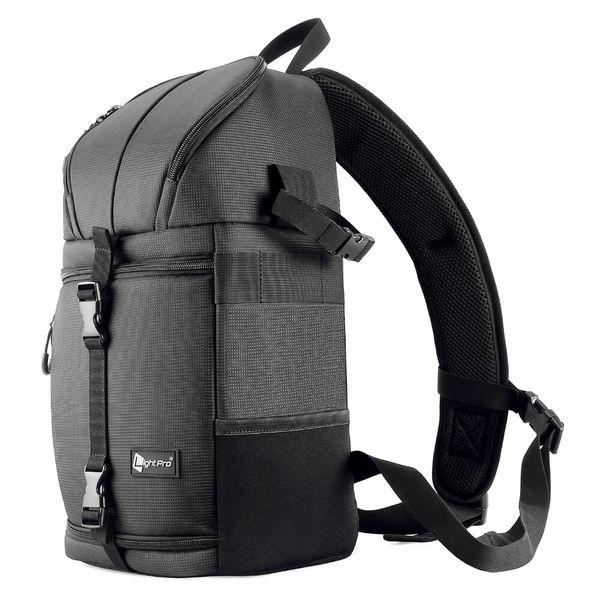 Caméra Sling Bag Épaule Cross DSLR Étui Étanche w / Rain Cover Caméra Sling Doux Rembourré Hommes Femmes Sac À Dos