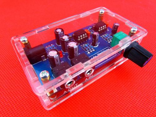 Classic 47 Board amp circuit with housing amplifier headphone amp