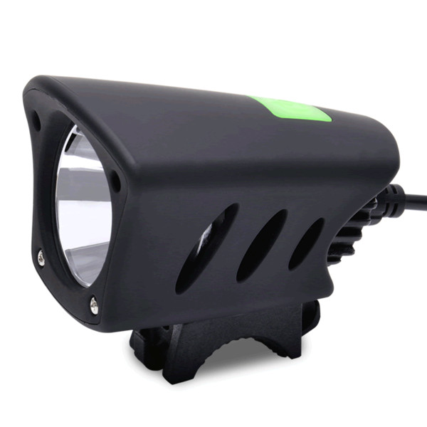 Bike Light Black Waterproof Super Bright T6 Led Lamp Bicycle Front Light Headlight Lamp for MTB Bicycle Night Cycling Accessory