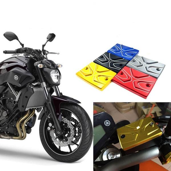 Motorcycle Brake Reservoir Master Cylinder pump Cover for YAMAHA MT07 XJ6F FZ6 FZ1 MT09