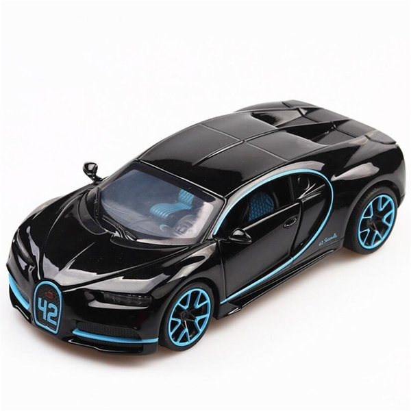 Acquista 1:32 Macchinina Giocattolo Bugatti Chiron Lega Di Metallo